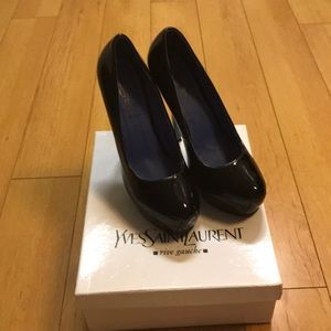 Yves Saint Laurent heels -worn once